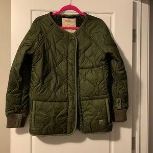 Aritzia TNA military jacket M